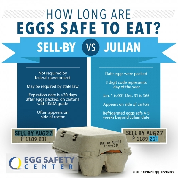 Crack The Code! Learn How To Read An Egg Carton   Egg Safety