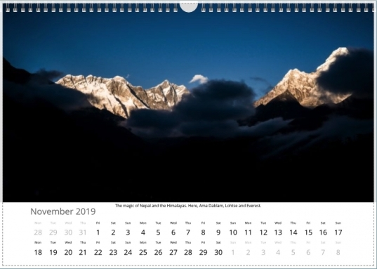 Ian Corless Photography 2019 Calendar – Now Available To