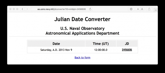 Julian Date To Regular Date Conversion   Stack Overflow
