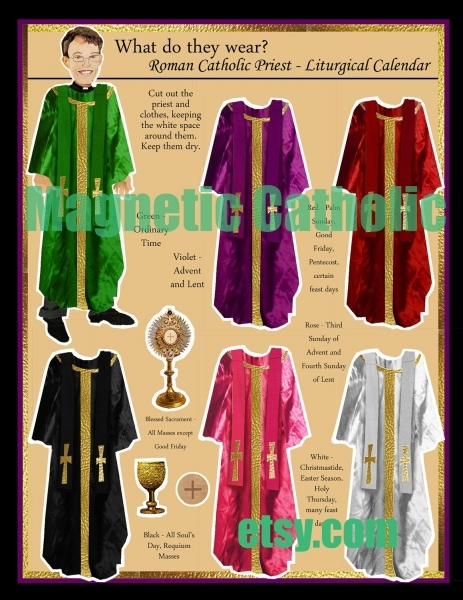 Roman Catholic Priest What Do They Wear  Magneticcatholic