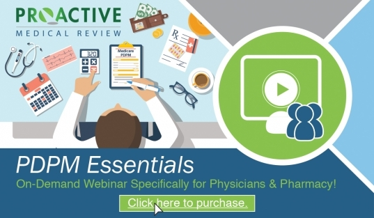Webinar: Pdpm Essentials For Physicians & Pharmacy   Wihca/wical