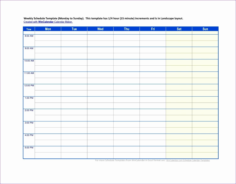11 Monthly Employee Schedule Template Excel - Excel