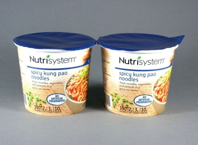 2 Nutrisystem Spicy Kung Pao Noodles Lunches Expiration