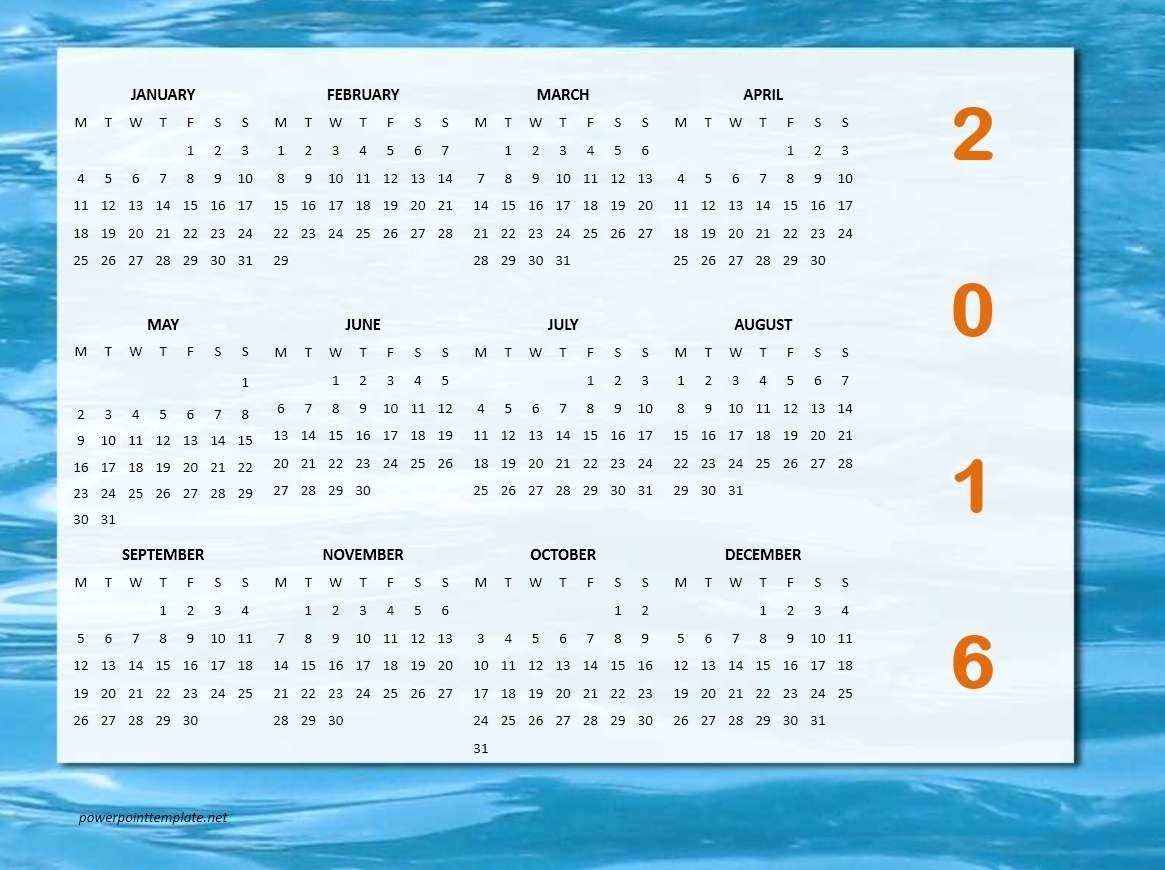 2016 Calendar Templates | Microsoft And Open Office Templates