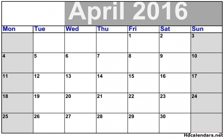 2016 Editable Calendar In Excel :-Free Calendar Template