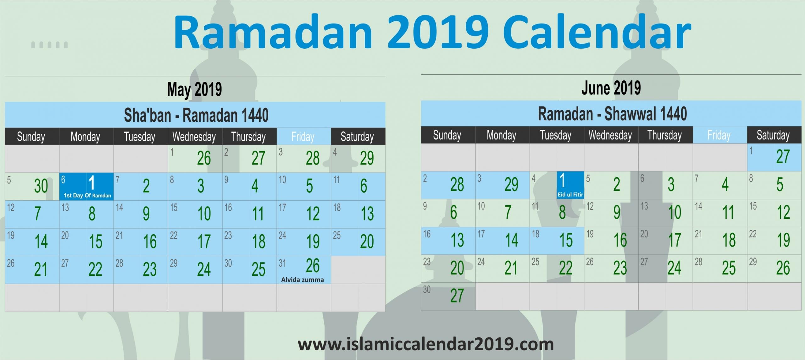 2019 January Sa Calendar | Qualads