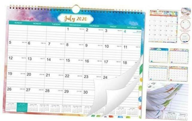 2020-2021 Calendar - 18 Month Wall Calendar With Julian