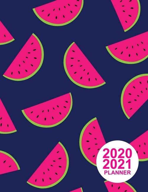 2020 2021 Planner: Nifty Two Year Monthly Planner Calendar