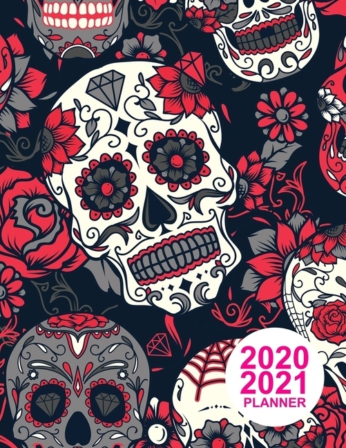 2020 2021 Planner: Pretty Two Year Monthly Pocket Calendar