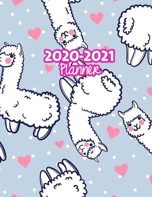 2020-2021 Planner: Two Year Calendar Organizer And Goal