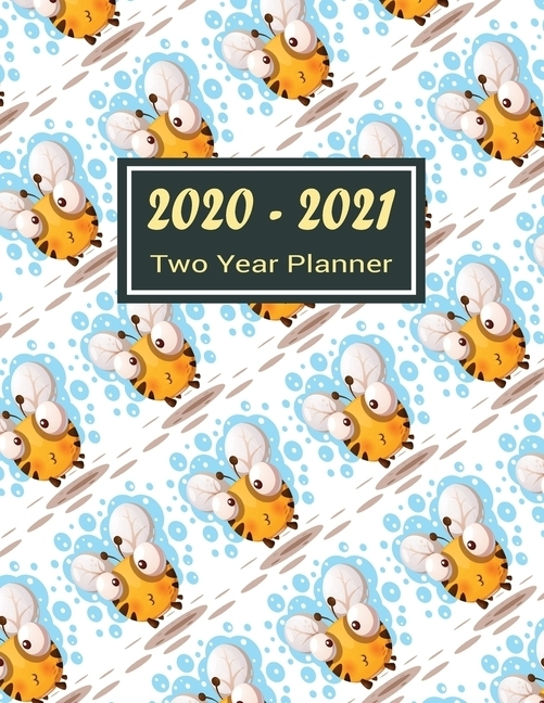 2020-2021 Two Year Planner : Pretty Bee Two Year Planner