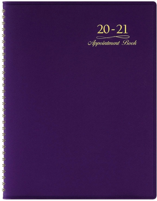 2020-2021 Weekly Appointment Book Planner - 2020-2021
