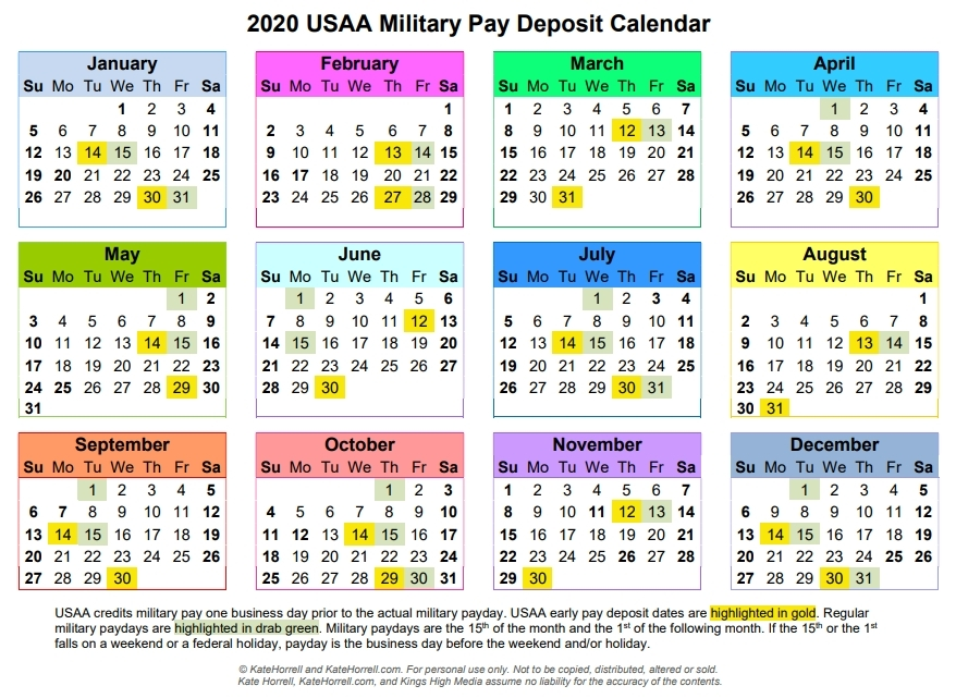 2020 Federal Pay Period Calendar Opm | Free Calendar