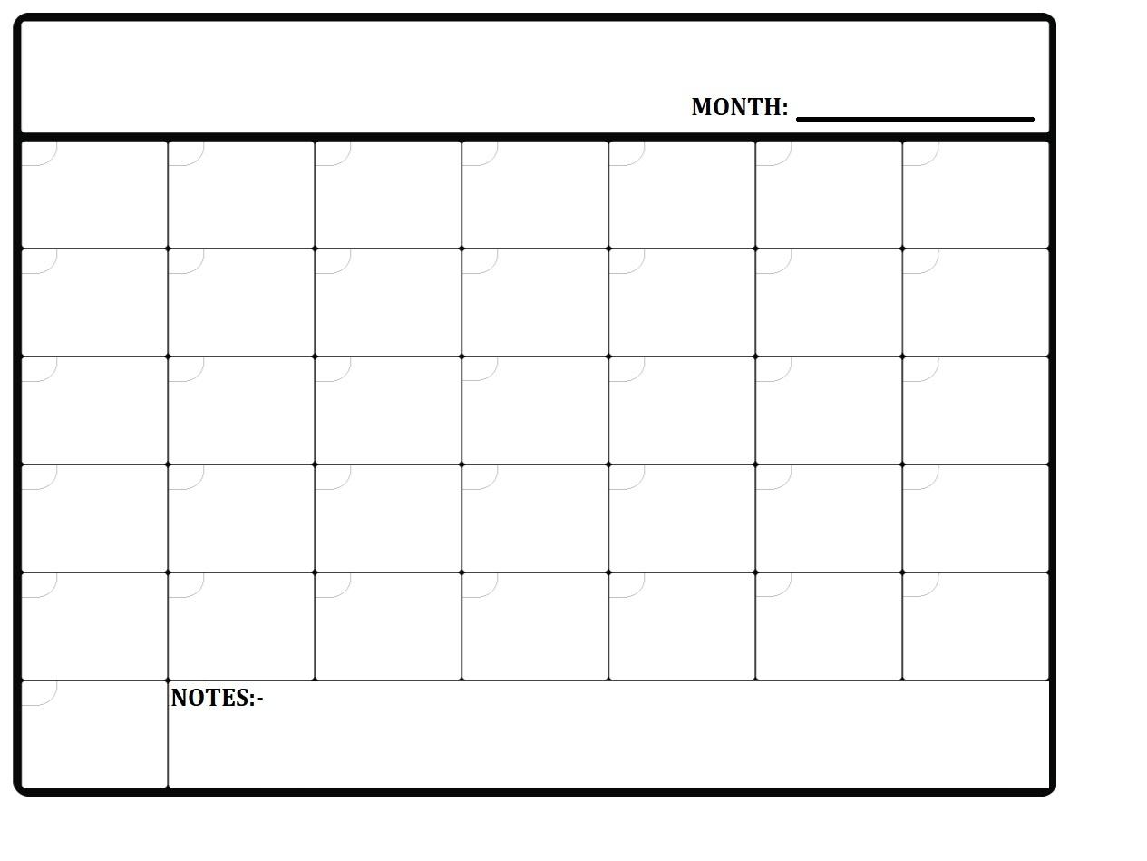 2020 Free Printable Monthly Planner Template » Calendarkart