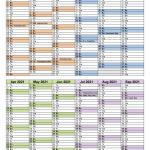 Pay Period Calendar 2021