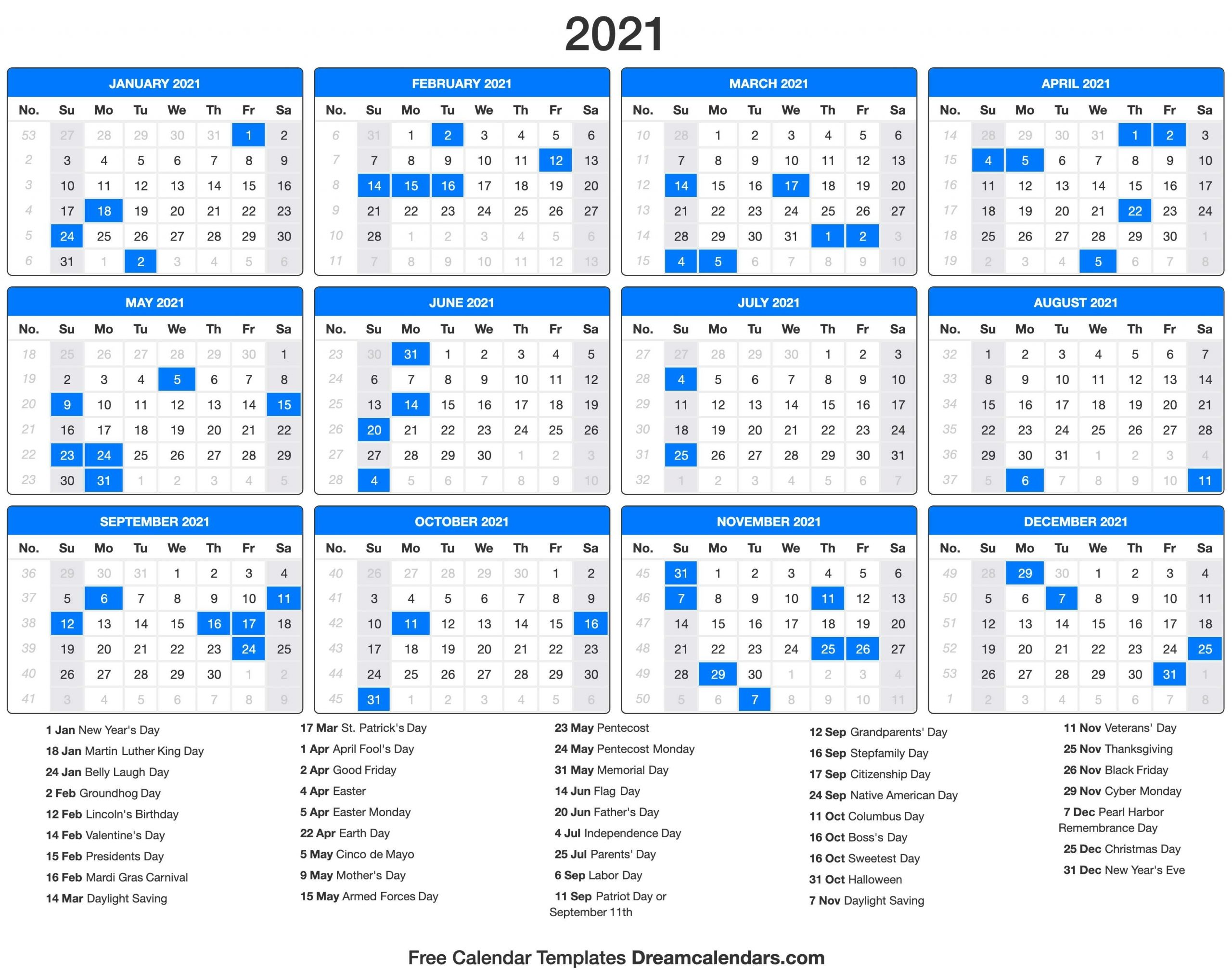 Opm.gov Pay Calendar 2021 | Printable Calendar Template 2020