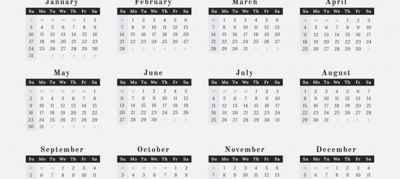 2021 Calender With Date Boxes | 2020Calendartemplates