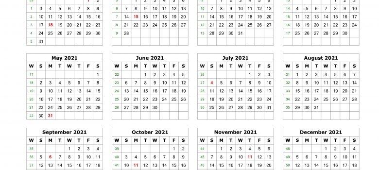 2021 Julian Date | 2020Calendartemplates - Part 4