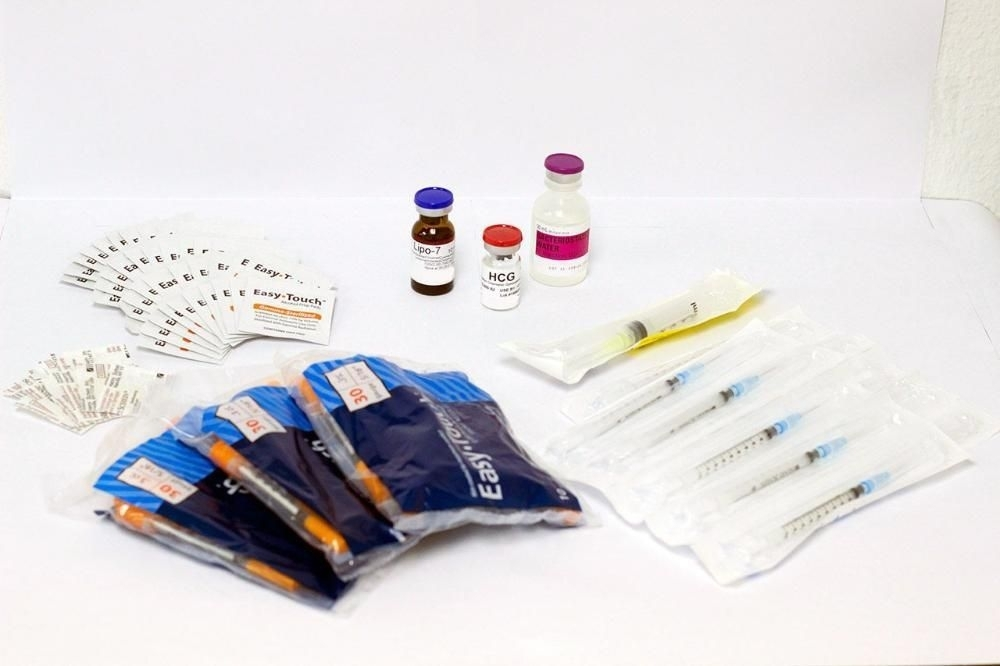 28-Day (1 Month) Hcg Injections & Lipo Shots Combo Kit