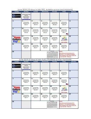 3+ Office Calendar Templates In Pdf | Doc | Free & Premium