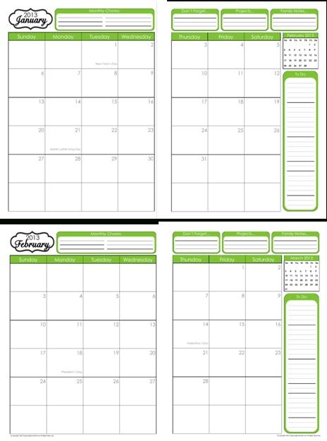 31 Days Of Home Management Binder Printables: Day #2