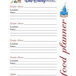 Disney Daily Planner Printables
