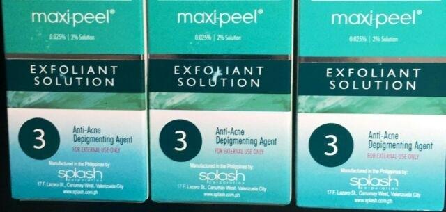 3X Maxi Peel 3 Anti Acne Astringent Solution 60Ml | Ebay