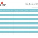 28 Day Calendar For Medications