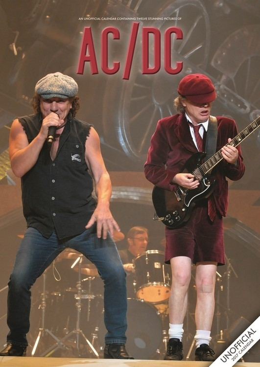 Ac/Dc - Calendars 2021 On Ukposters/Europosters