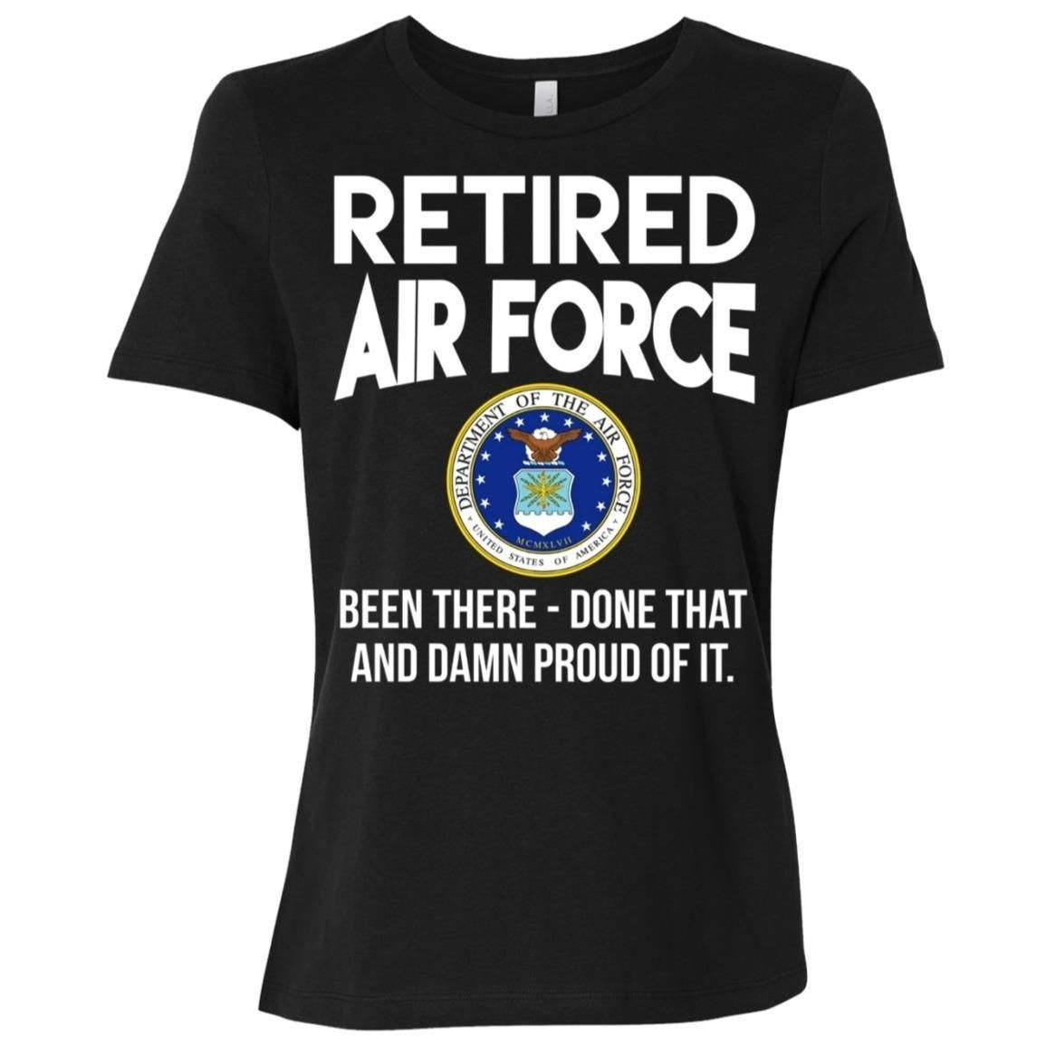 Air Force Retired - Army Retired Women Short Sleeve T