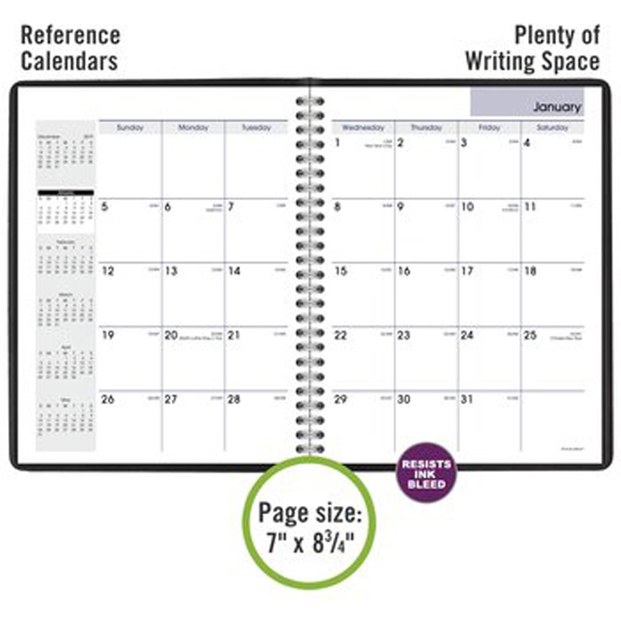 At-A-Glance Dayminder Monthly Planner - Julian Dates