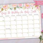 Due Date Guess Calendar