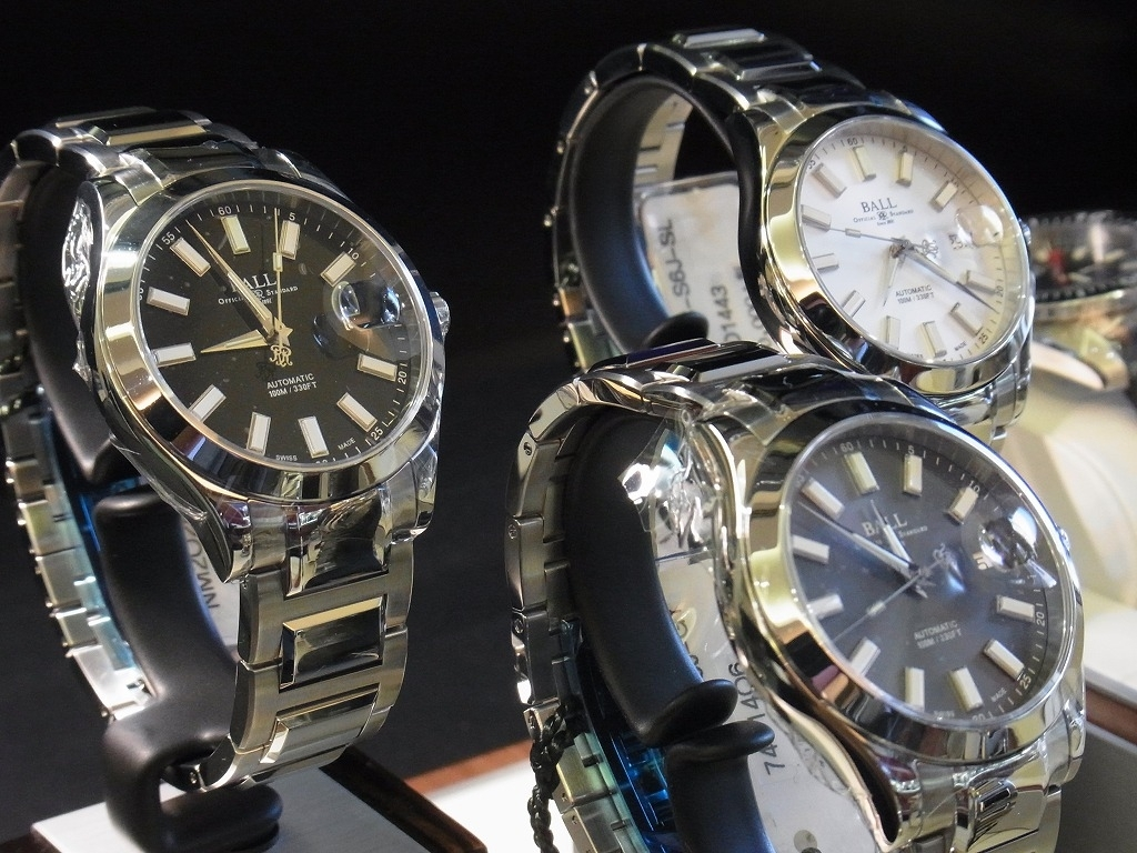 Ball Watch|最新モデル3色入荷! | Staff Blog | Basis Species