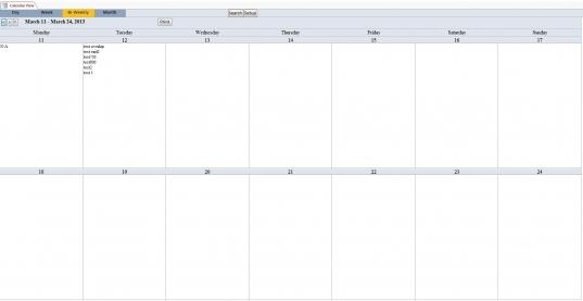 Bi Weekly+calendar+template | Excel Calendar Template