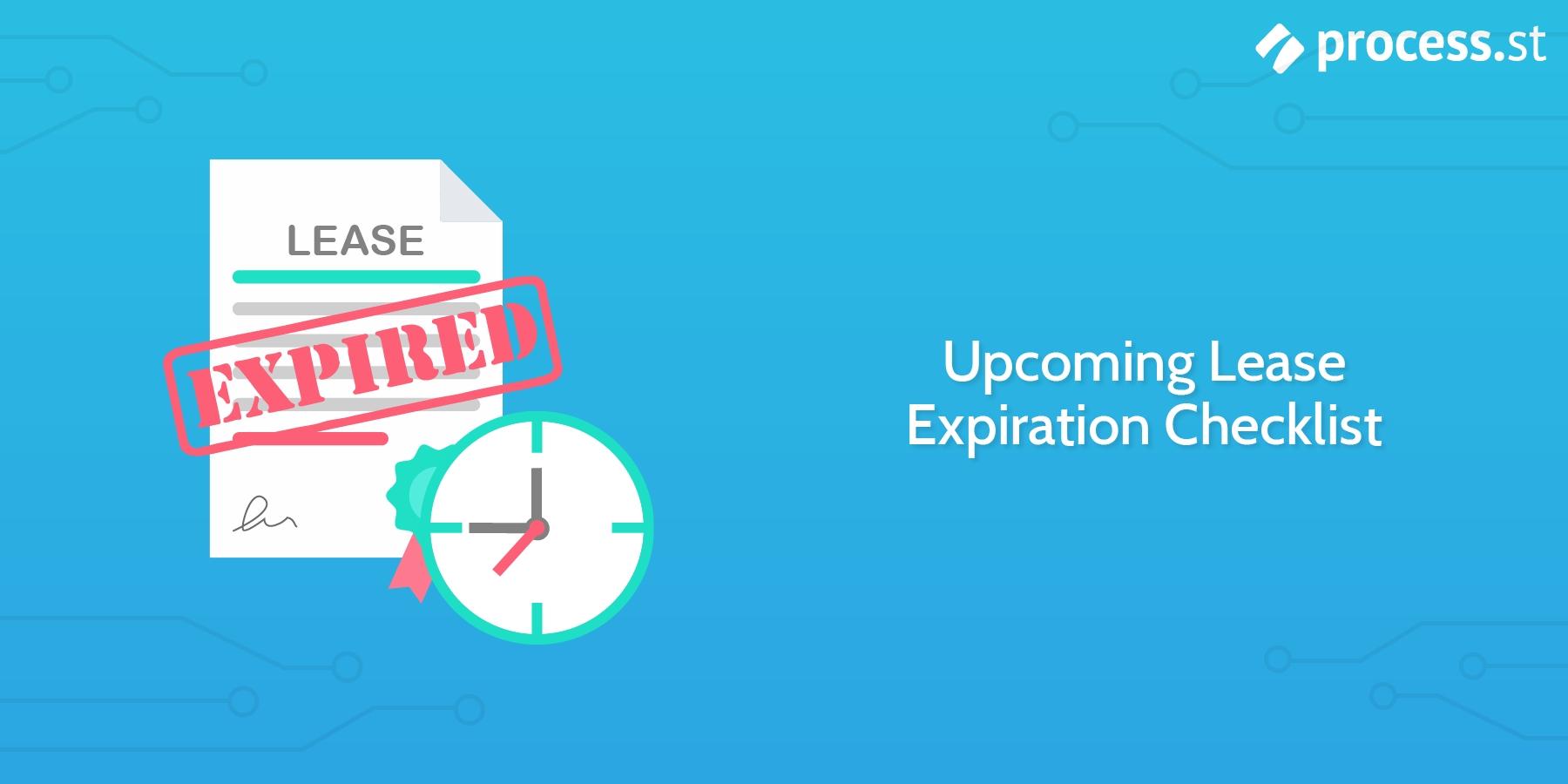 Buildium-Checklists-Upcoming-Lease-Expiration | Checklist
