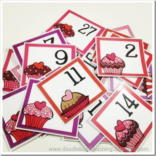Calendar Cards - Perfect For Recognizing Patterns, Putting