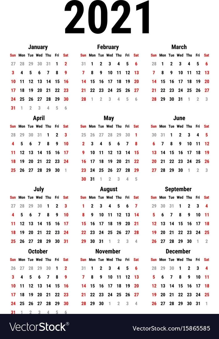 Calendar For 2021   Exam Calendar