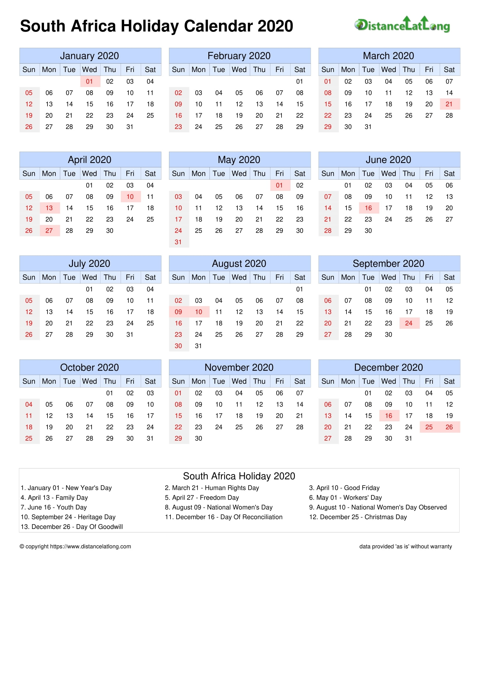 Calendar Horizontal Month Week Grid Sunday To Saturday