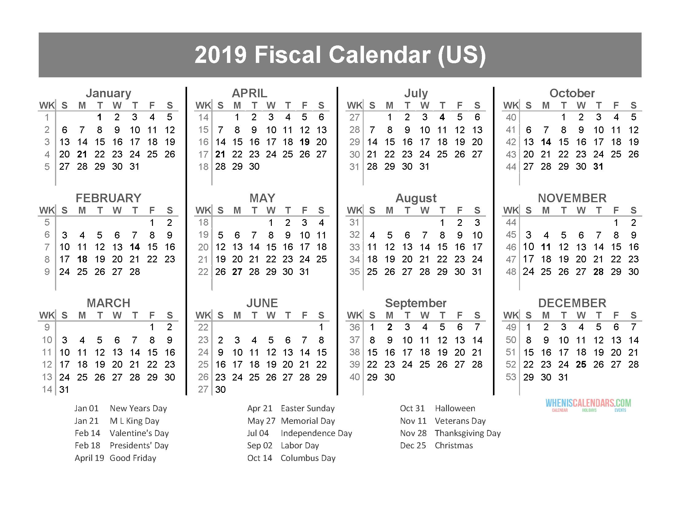 Calendar | Page 4 Of 63 | Free Printable 2019 Calendar