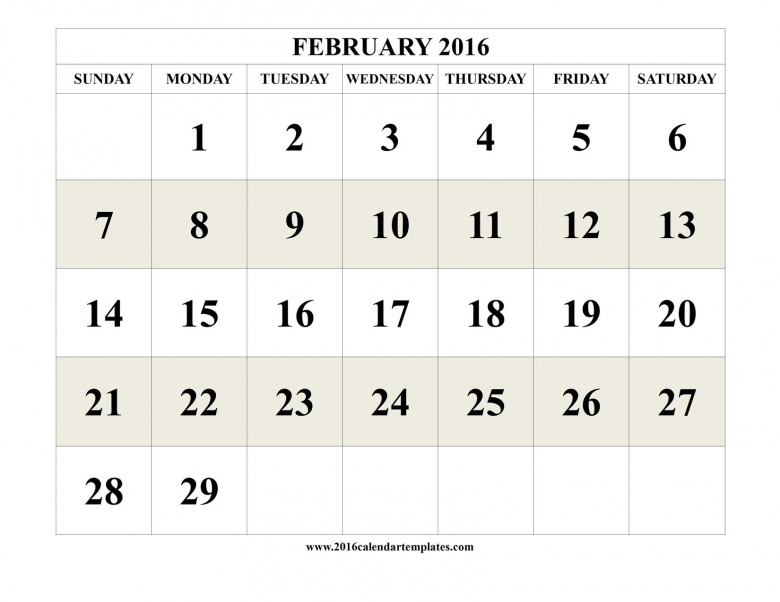Calendar With Days Numbered 1 365 :-Free Calendar Template