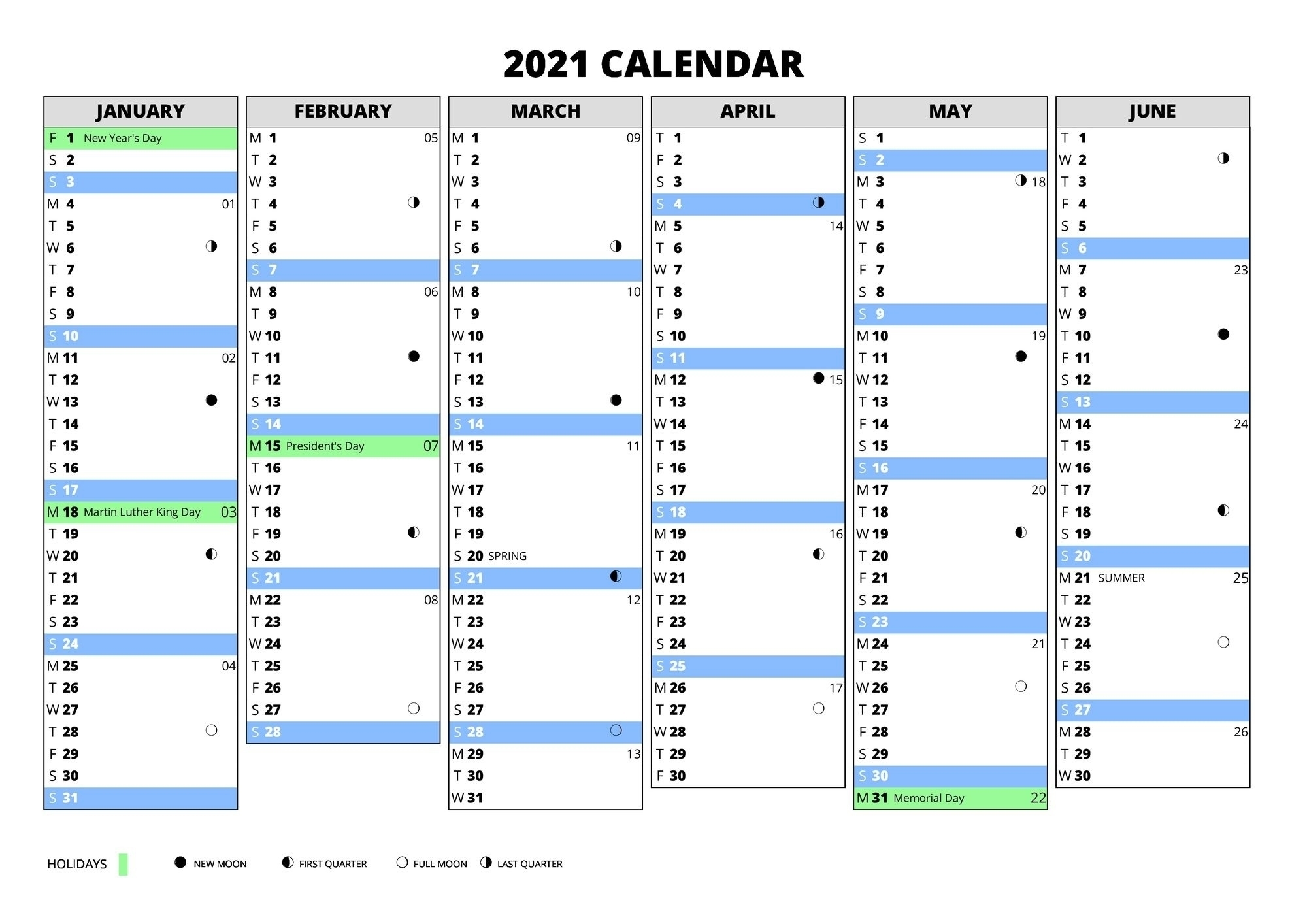 Calendar Year 365 Days | Ten Free Printable Calendar 2020-2021