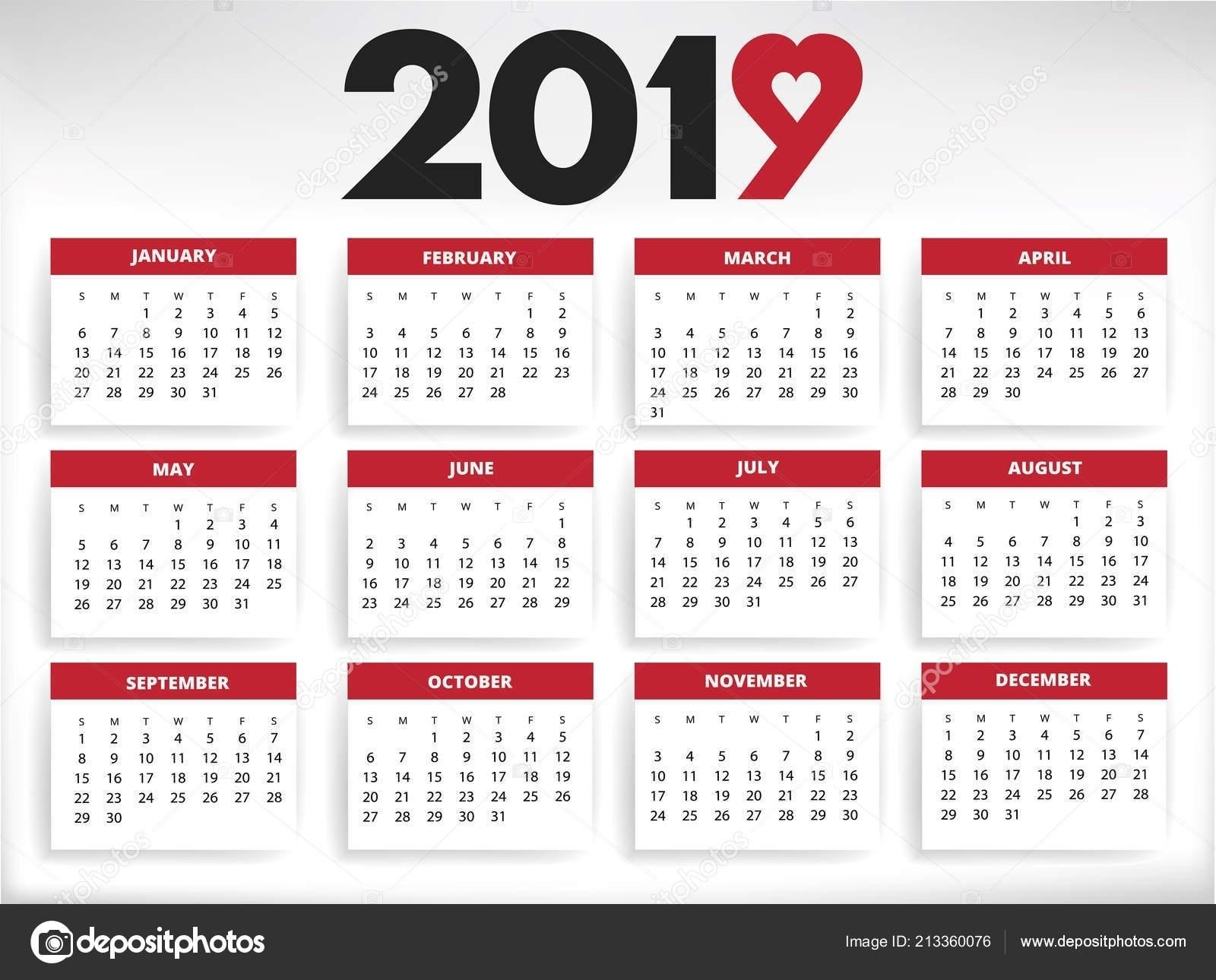 Calendar Year Number Of Days   Ten Free Printable Calendar