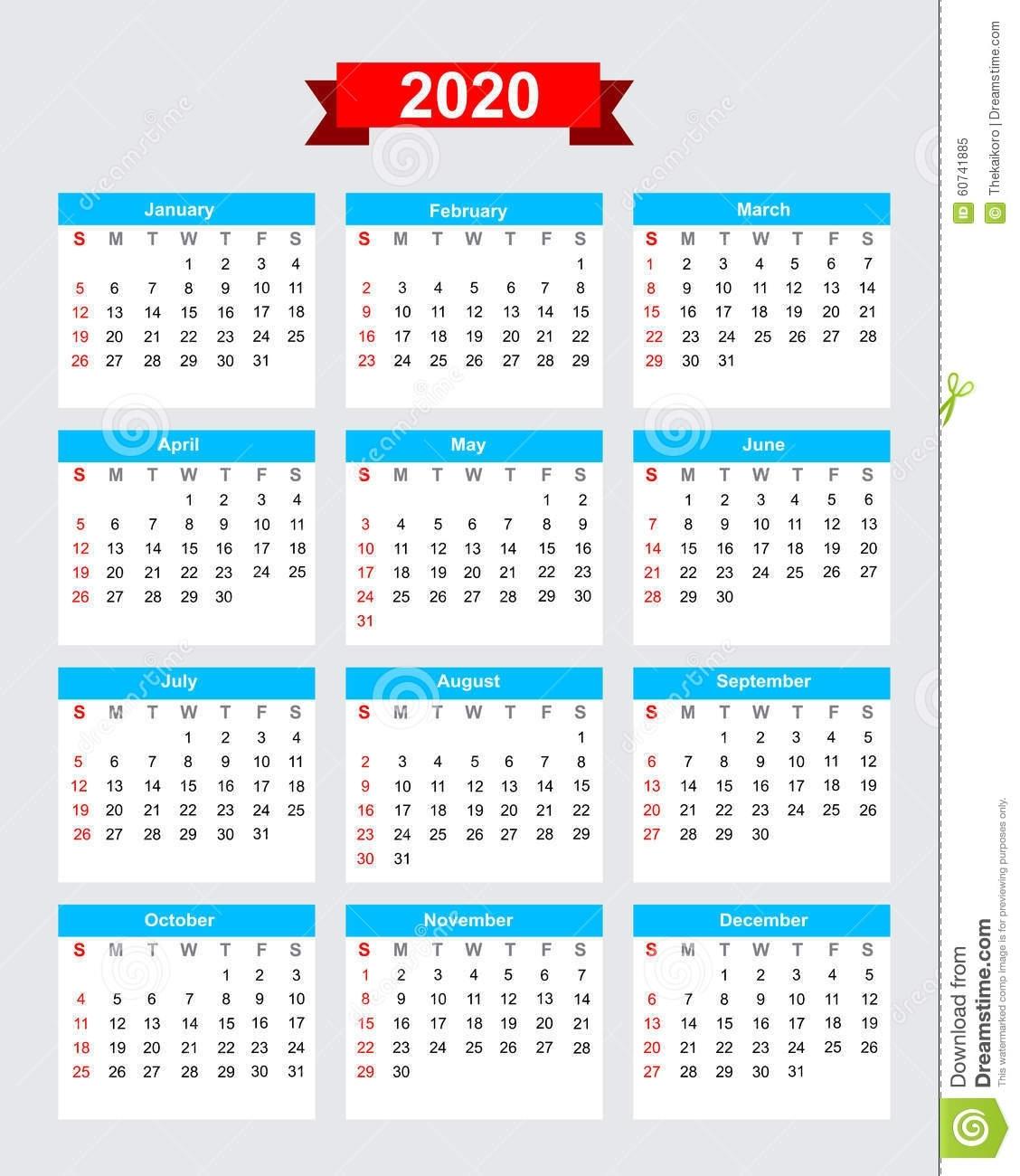 Calendario 2020 Con Semanas   Calendar For Planning