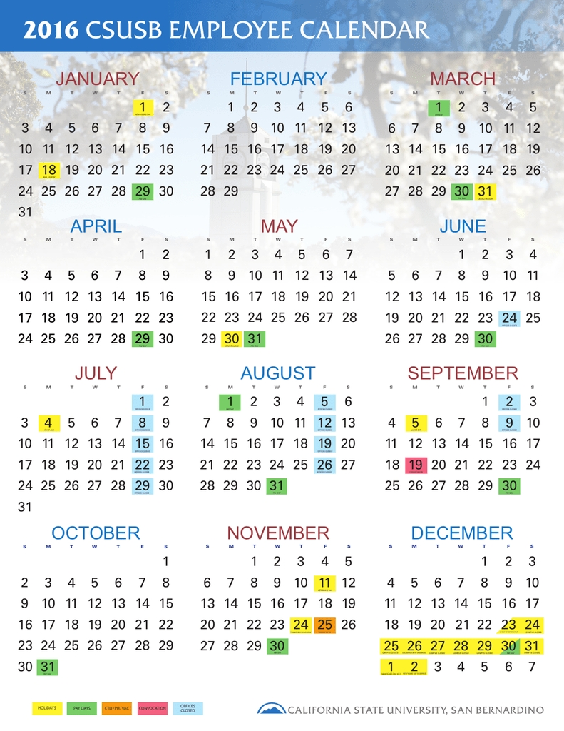 California State Employee Calendar | Payroll Calendar For 2020