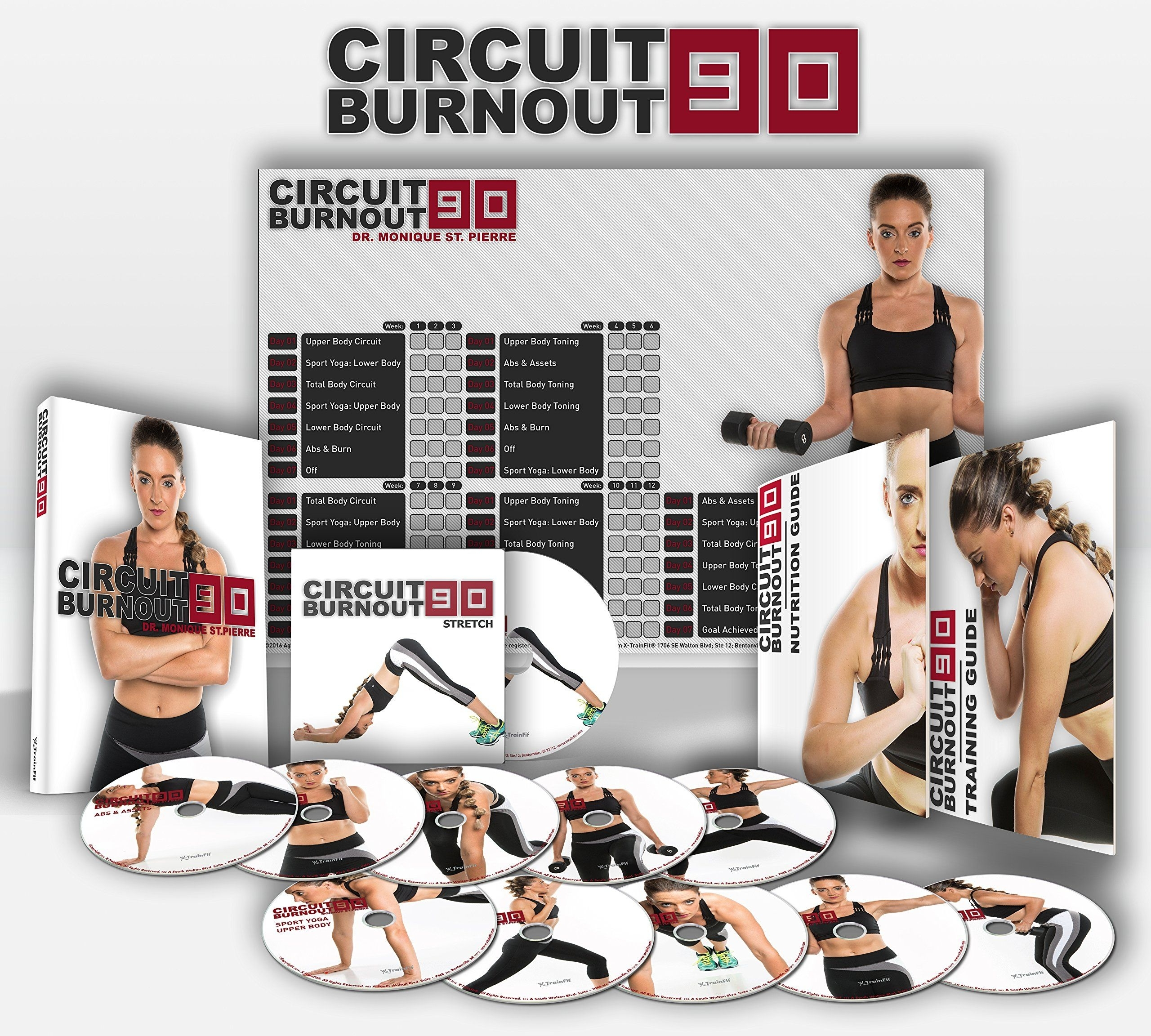 Circuit Burnout 90: 90 Day Dvd Workout Program With 10 1
