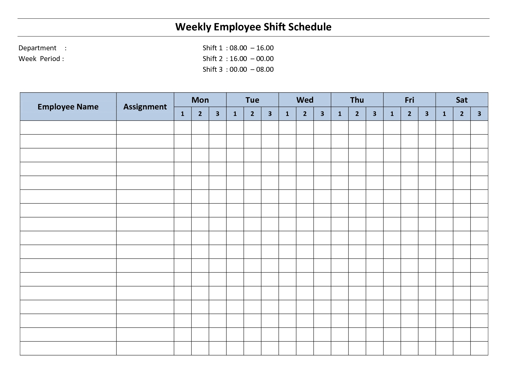Collect Blank Weekly Schedule Template Printable ⋆ The