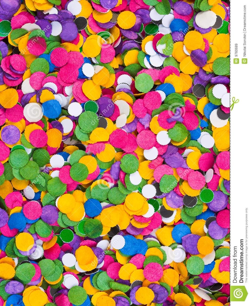Confetti Background Stock Image. Image Of Adoration