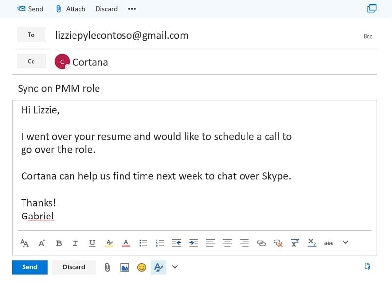 Cortana Gets Ability To Schedule Meetings; Skype Bots To