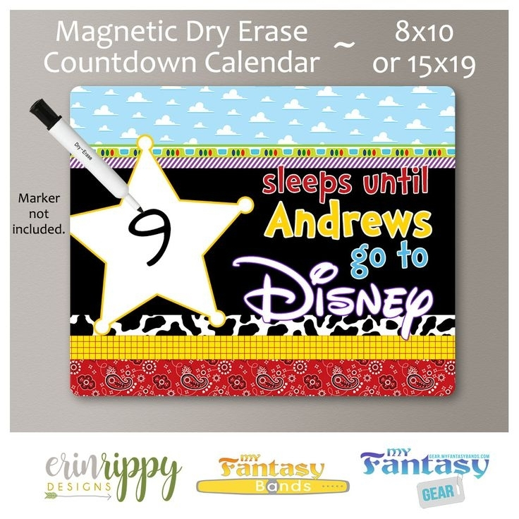 Countdown Calendar – Magnetic Dry Erase | Countdown