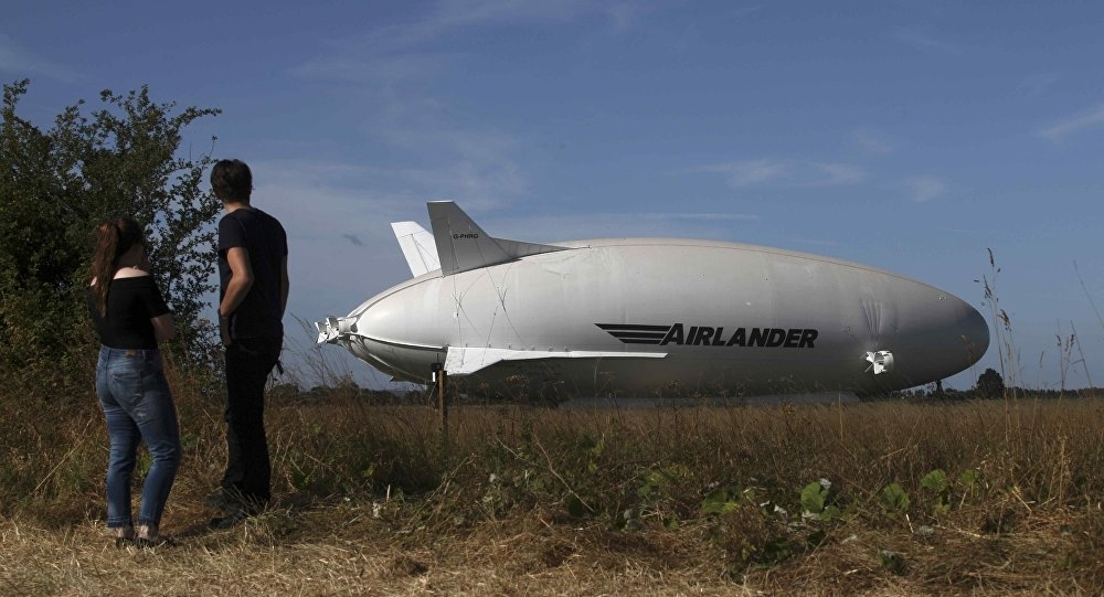 Crew Of Airlander 10 Safe – Manufacturer, Amid Reports Of